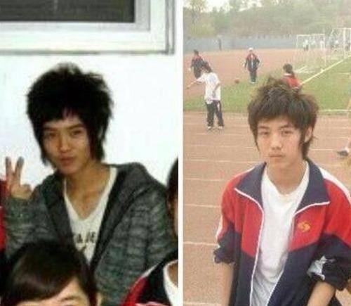 明星上学时候的照片,鹿晗非主流,胡歌长相俊朗已有李逍遥的影子