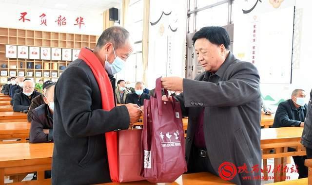 渭南市慈善协会2021重阳节敬老月慈善联合大行动启动(组图)