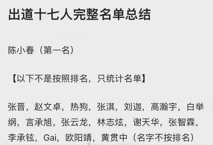 《披荆斩棘的哥哥》被曝出道17人,陈小春第一,尹正胡海泉被淘汰图片
