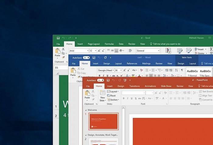 微软发布Office Insider Build 12827.20160更新的照片 - 2