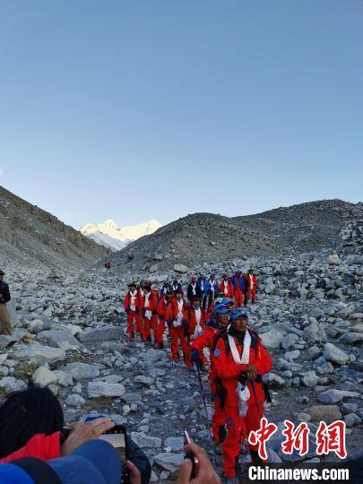 2020珠峰高程测量登顶测量阶段圆满结束