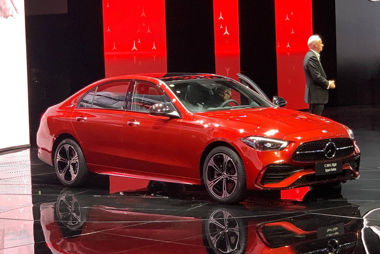 2021上海车展:北京奔驰全新一代C级长轴距轿车全球首发