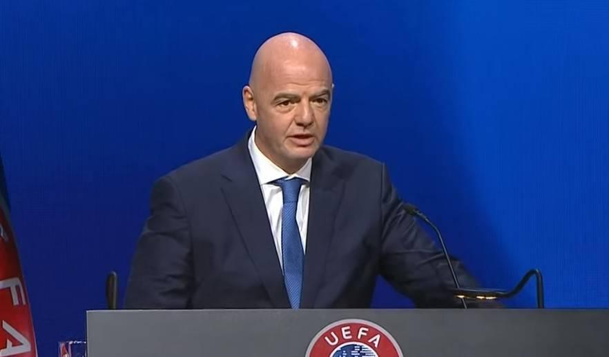 国际足联主席因凡蒂诺:我们反对建立欧洲超级