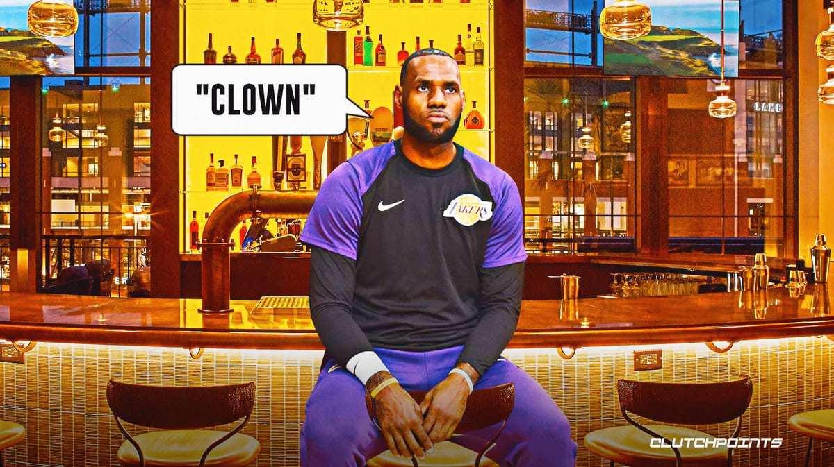 酒吧老板称LBJ被开除前禁播NBA 詹姆斯嘲讽式回应