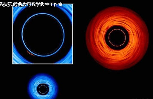 看两颗黑洞在苍穹间共舞,着实的壮观  第4张