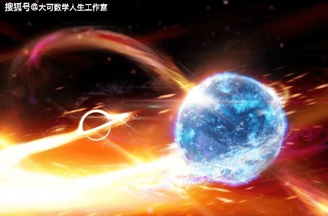 看两颗黑洞在苍穹间共舞,着实的壮观  第11张
