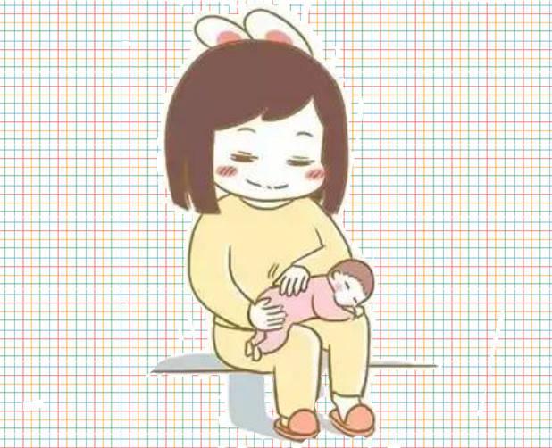 嗝 拍出来 宝宝就不会吐奶了?这3张图教你如何拍嗝