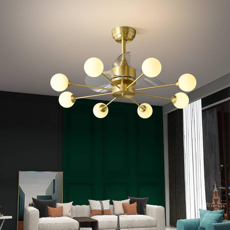 全铜北欧风扇灯 079981