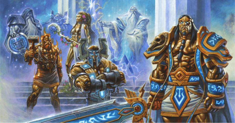 魔兽世界:名字虽然叫万神殿,但该组织只有7个人                                   图3