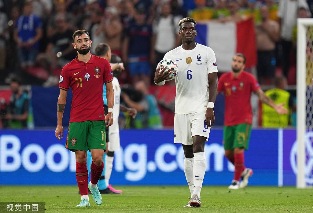 尴尬!Whoscored晒B费欧洲杯关键数据 0球0助0过人