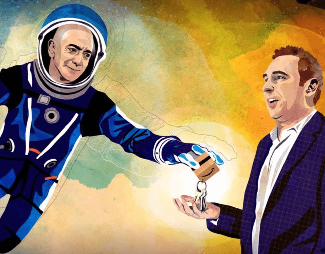 世界首富贝索斯卸任亚马逊CEO去遨游太空?接棒者追随24年,任前拿2亿美金股票