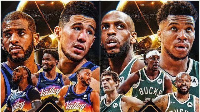 NBA总决赛G4直播:雄鹿vs太阳 雄鹿战术策略奏效?太阳保持专注冲赛点!