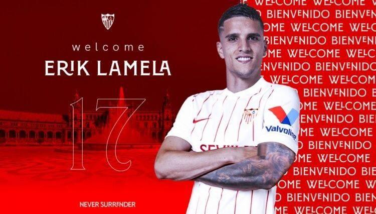 官方:拉梅拉加盟塞维利亚 签约三年身披17号球衣
