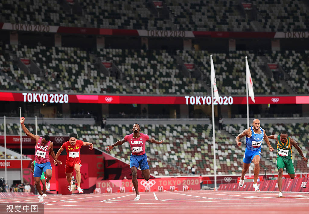 苏炳添生涯回顾:十次跑进十秒大关 东京奥运创造历史_渔乐吧登录