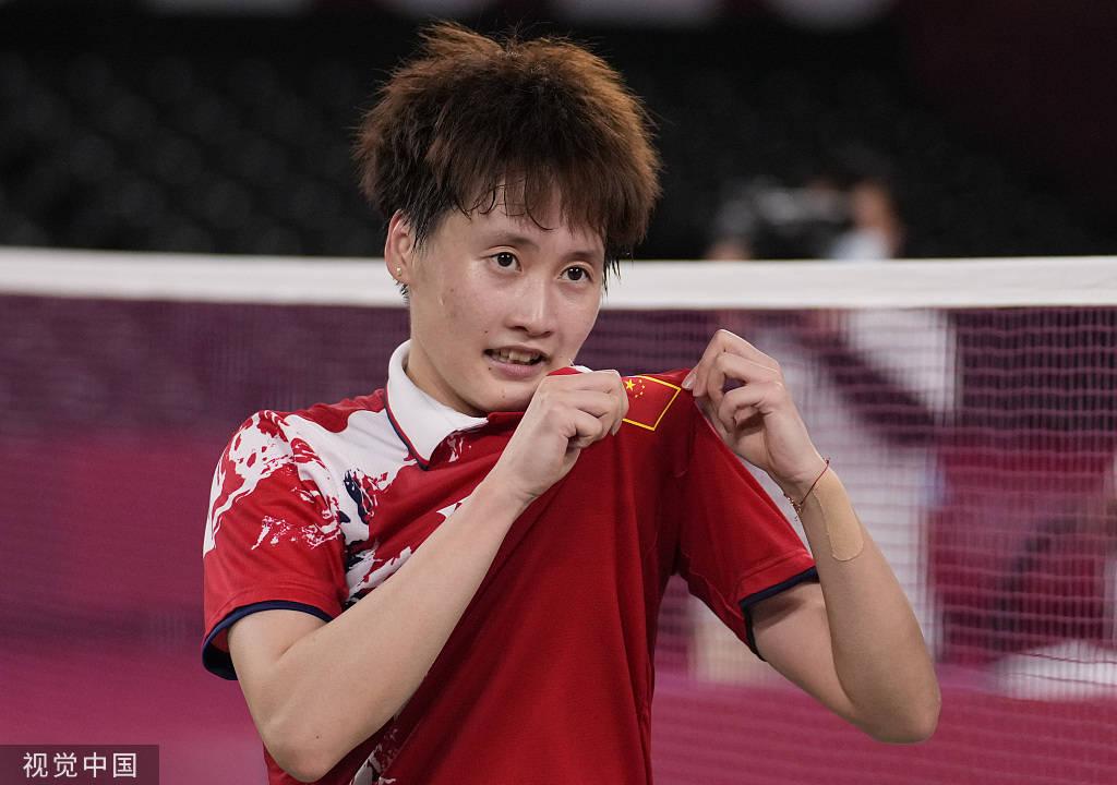 从2008到2022:陈雨菲力压戴资颖夺冠 用实力证明女单崛起