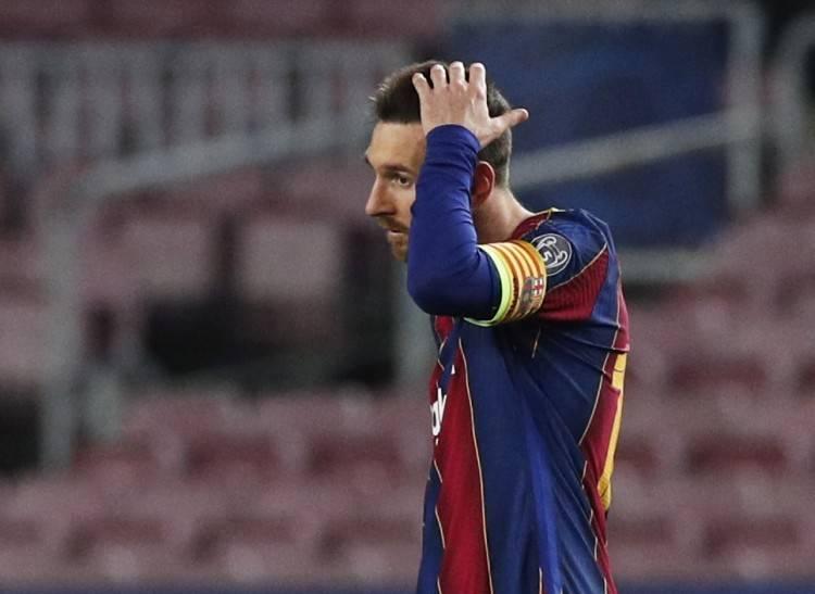 名记:巴萨用梅西离队向西甲施压 他仍有可能留下