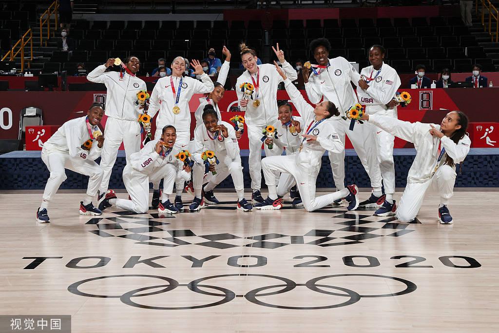 美国日夺3金夺金牌榜首位 中国追平境外奥运最好成绩_英皇娱乐注册