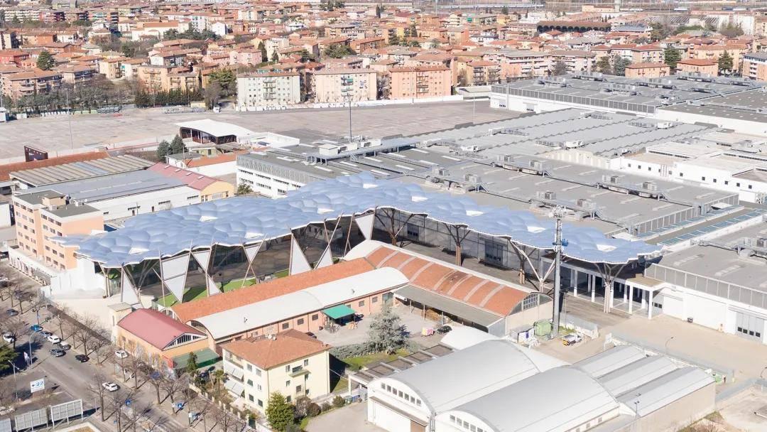 ETFE膜结构丨Veronafiere展览中心ETFE顶篷
