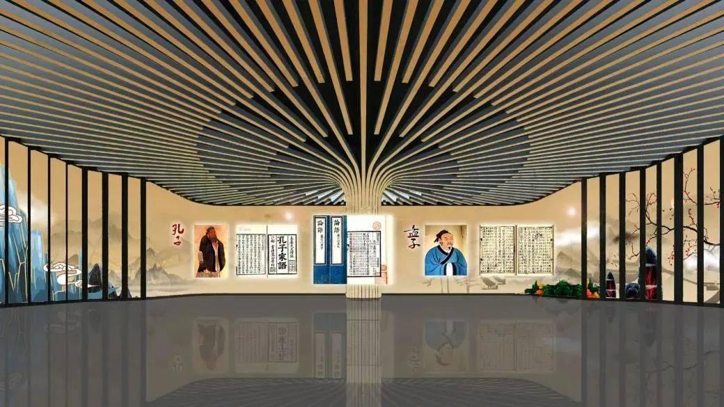 集团公司展厅陈列设计都有哪些表现手法?