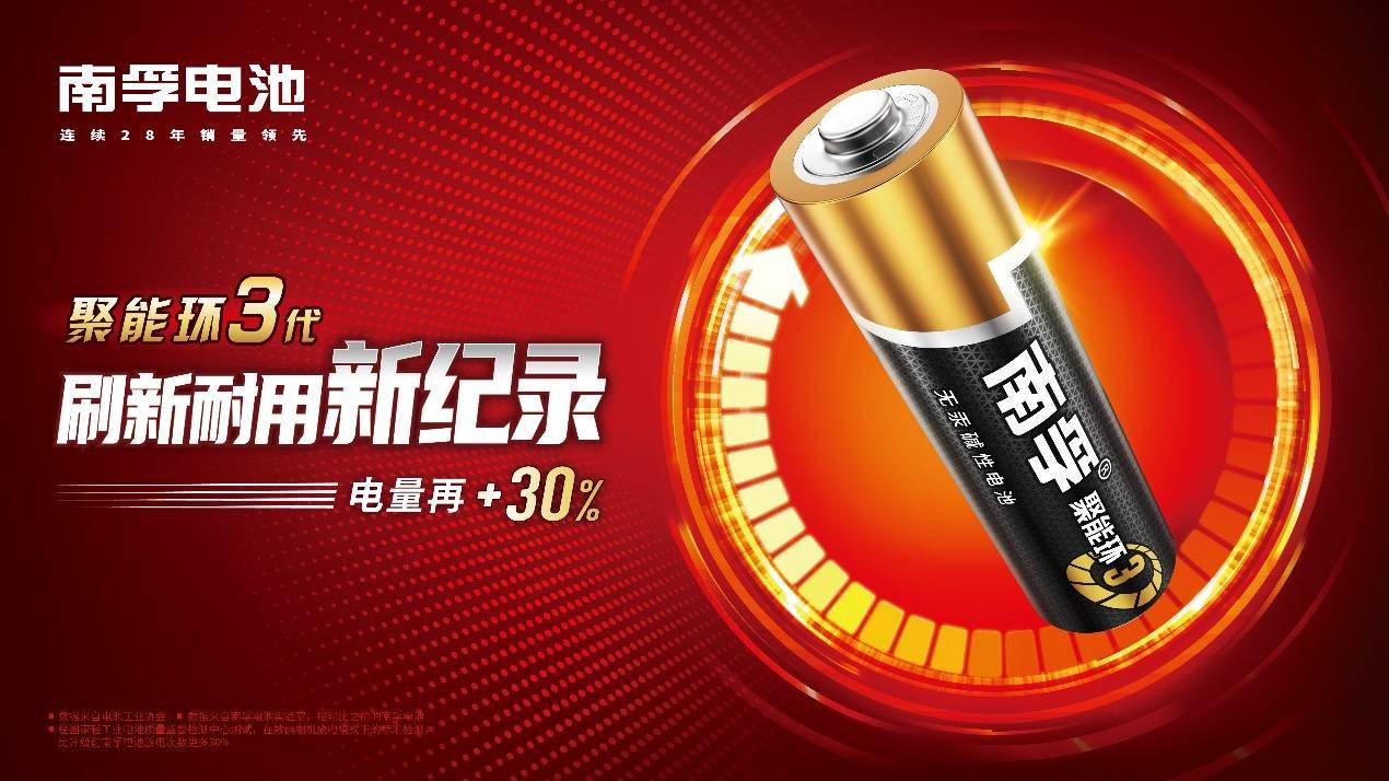 碱性电池排行_以奥运精神打造中国能量,南孚持续领跑碱性电池行业