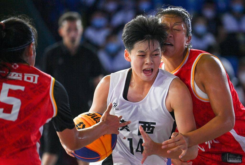全运会三人篮球U19组 男女篮四强全部出炉