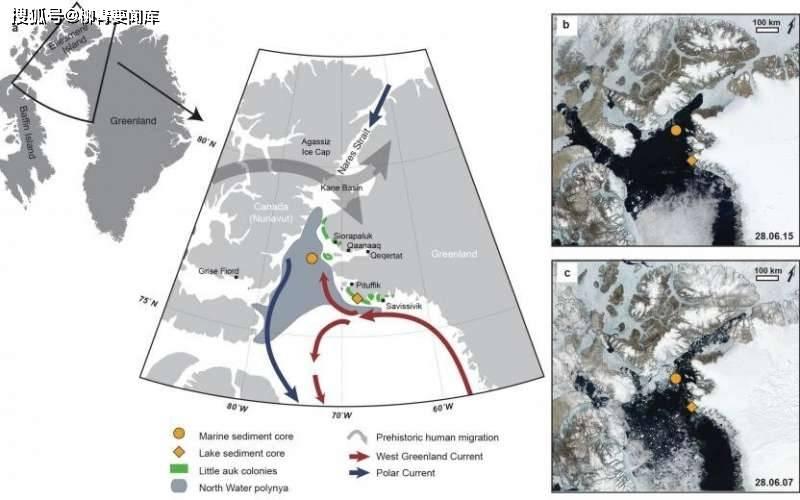 全球变暖威胁到北极绿洲的存在