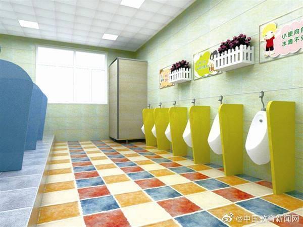 陕西合阳:全面完成农村校园厕所改造