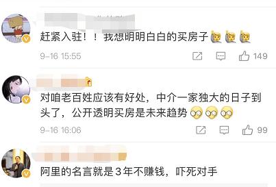 马云杀入房地产 网友:这是要革了中介的命?的照片 - 9