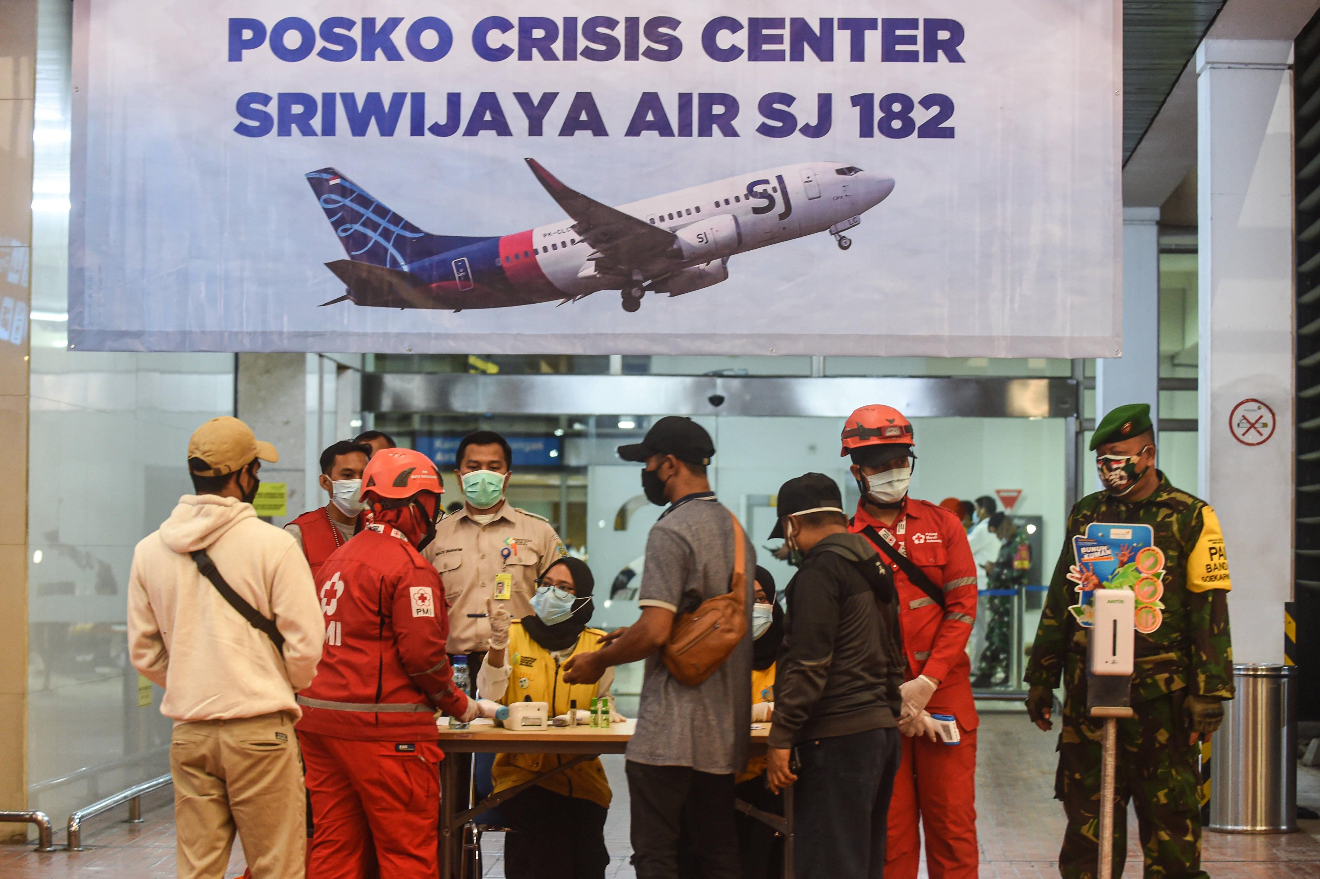 印尼三佛齐航空公司一客机坠毁
