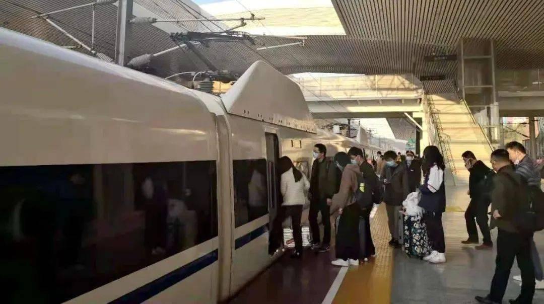 1月20日起全国铁路实行新运行图,韶关高铁站列车运行有变化...