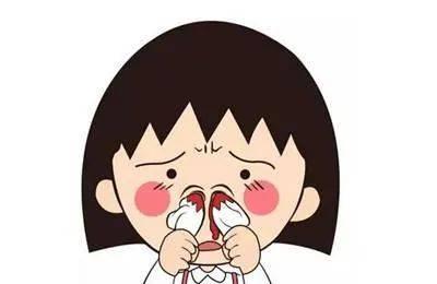 """婴儿流鼻血了。我应该先做什么?不要用你的""""老方法""""止血!"""