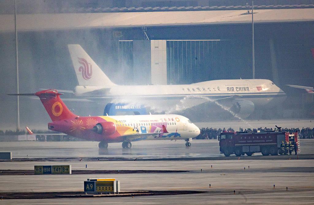 成都天府国际机场试飞圆满成功