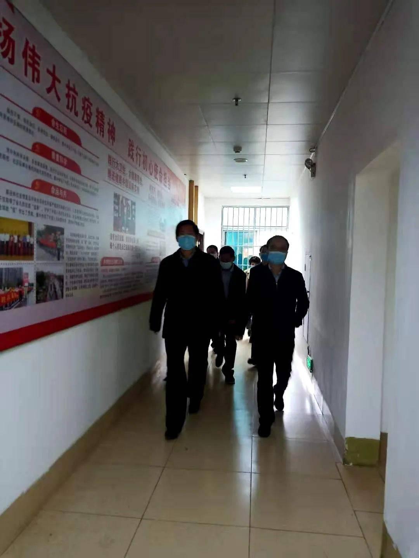 百色市人民政府副市长彭斌到市卫健委调研指导工作