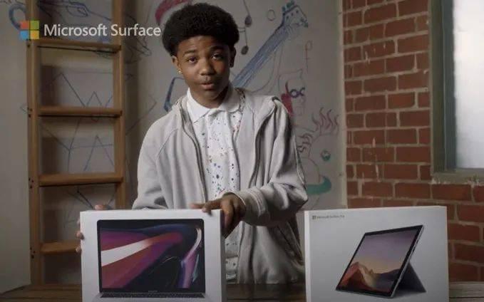 微软发布新广告,处处讽刺苹果,结果反被网友讽刺...