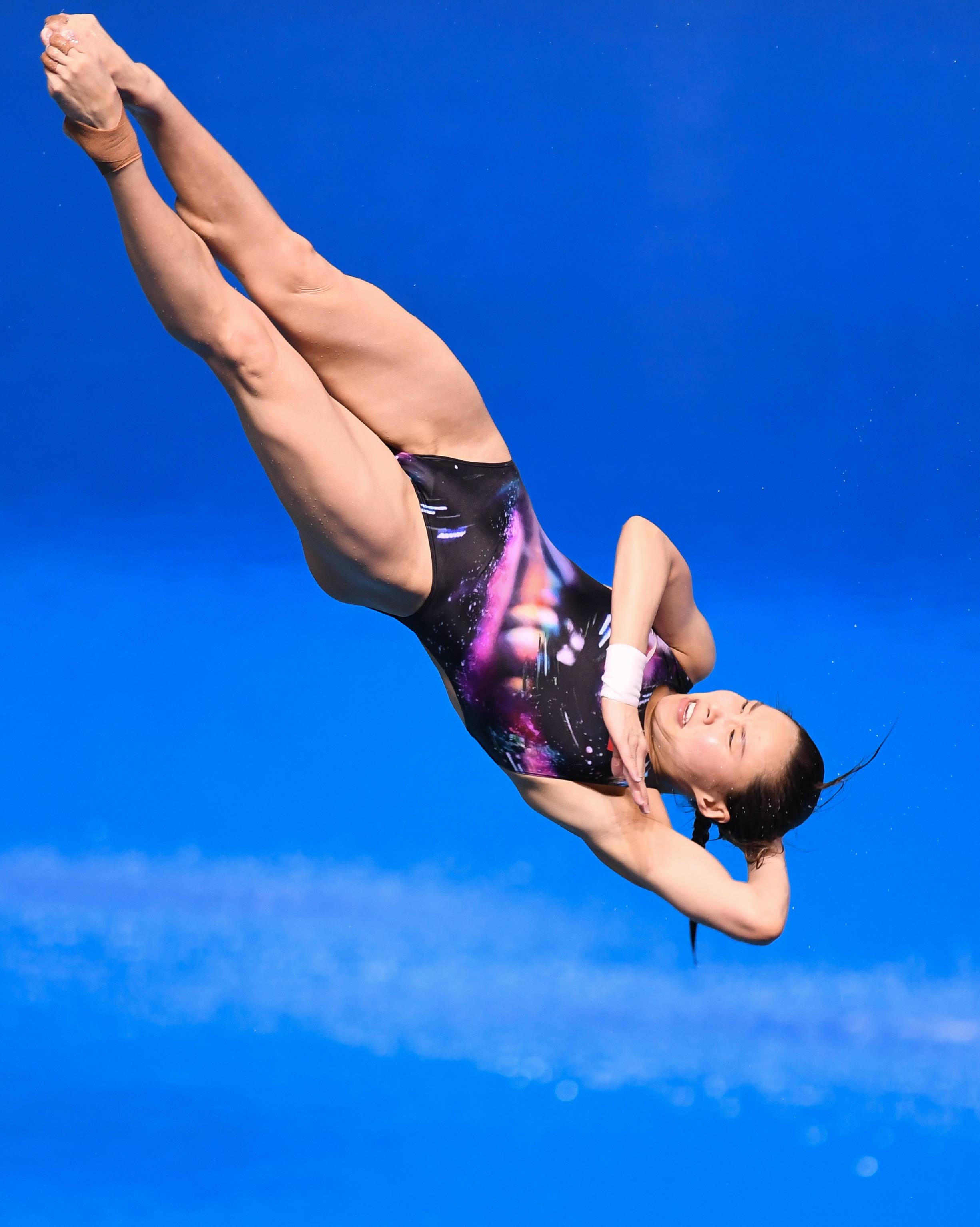跳水——2021年跳水项目东京奥运会、世界杯选拔赛:女子3米板决赛赛况