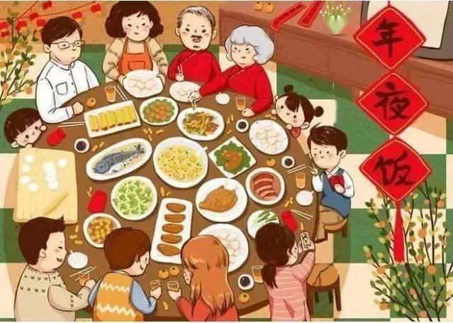 你家年夜饭必不可少的头牌菜是啥,快来晒!