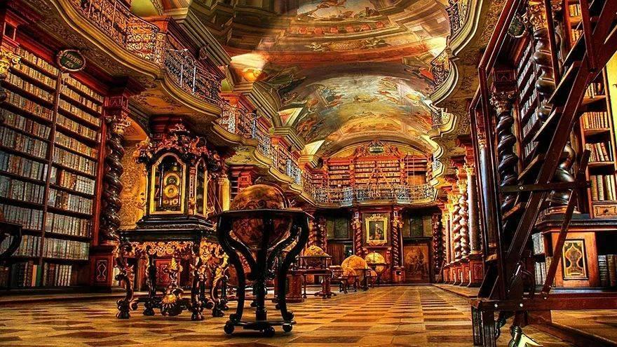 世界上最美的106座图书馆,你最喜欢哪一个?