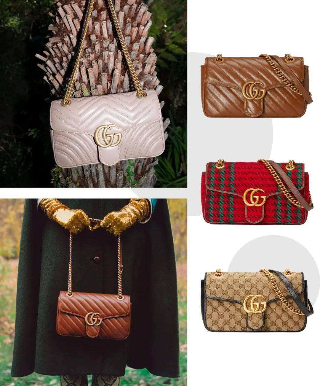 Gucci最火爆的包包推出新款,年终奖就给它!