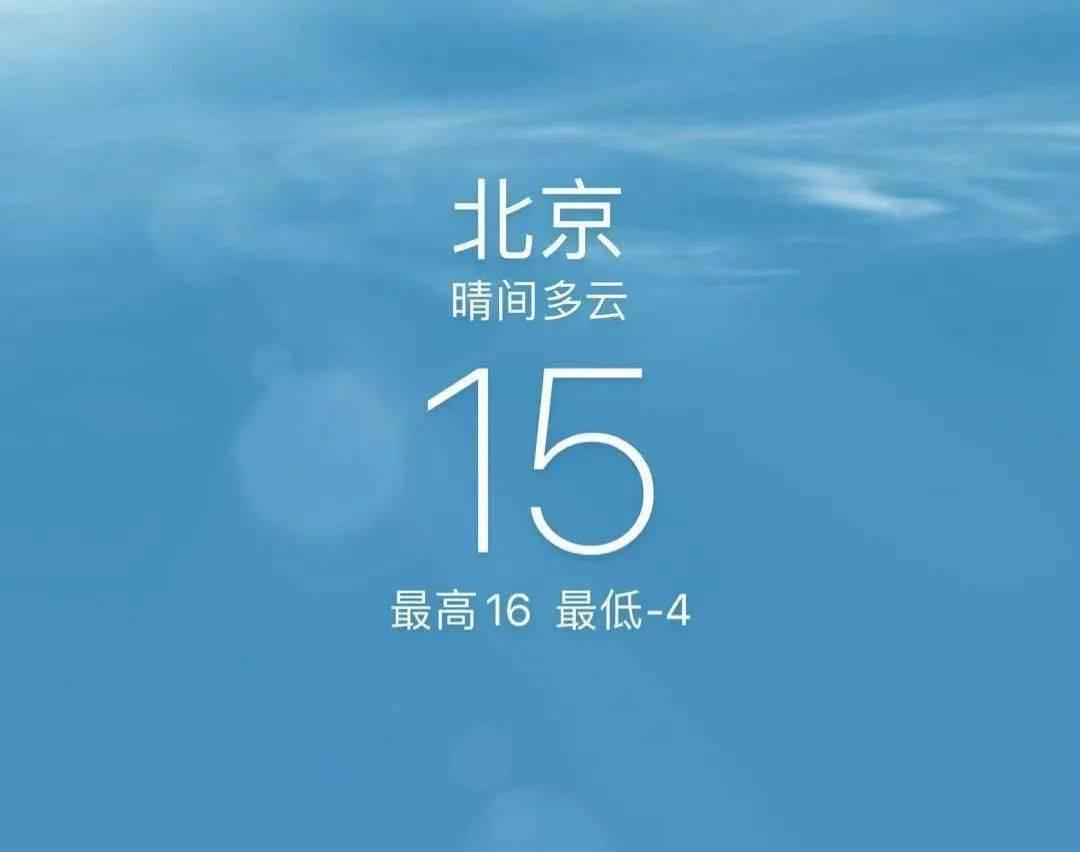 星辉总代【天有点热】今天中午竟然有15℃ 不过明天就来了一波降温_市气象台