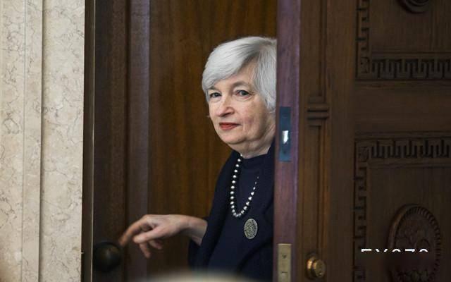 """金价反弹面临阻力,美元指数站在91关口;耶伦""""支持""""受困的中产阶级,投资者等待确认预期"""