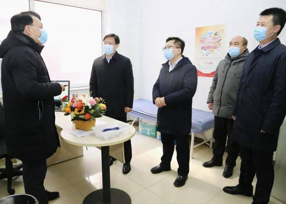 锦州医科大学第三附属医院在春节前夕发起吊唁访问