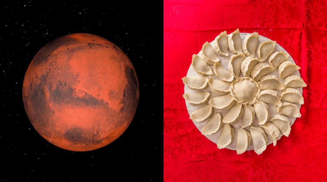 与火星共度新年!