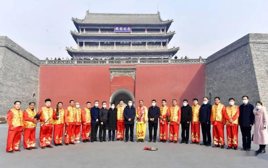 中国年在忻州:忻州古城真红火  第5张