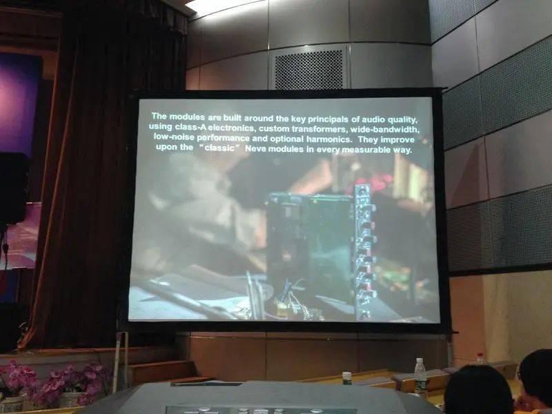 直播回顾:2014 传媒大学录音大师班——Rupert Neve 亲口讲述录音设备设计理念与声音美学