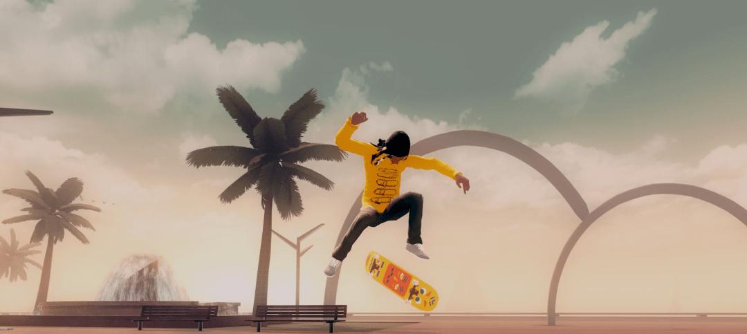滑板运动模拟游戏《滑板都市》即将登陆多平台