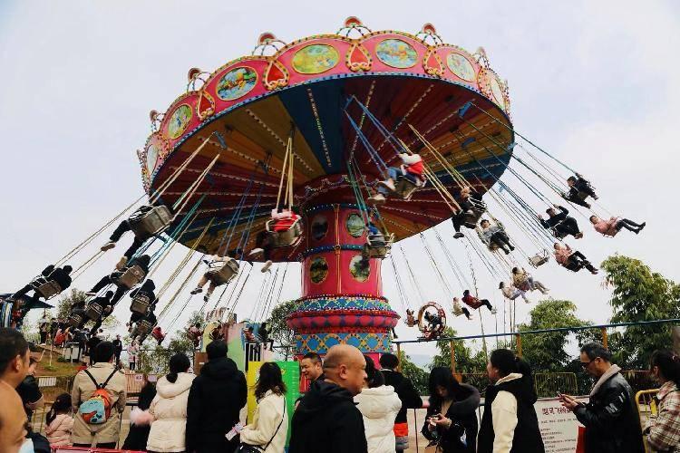 近郊游人气旺 美心红酒小镇春节迎客20万人次