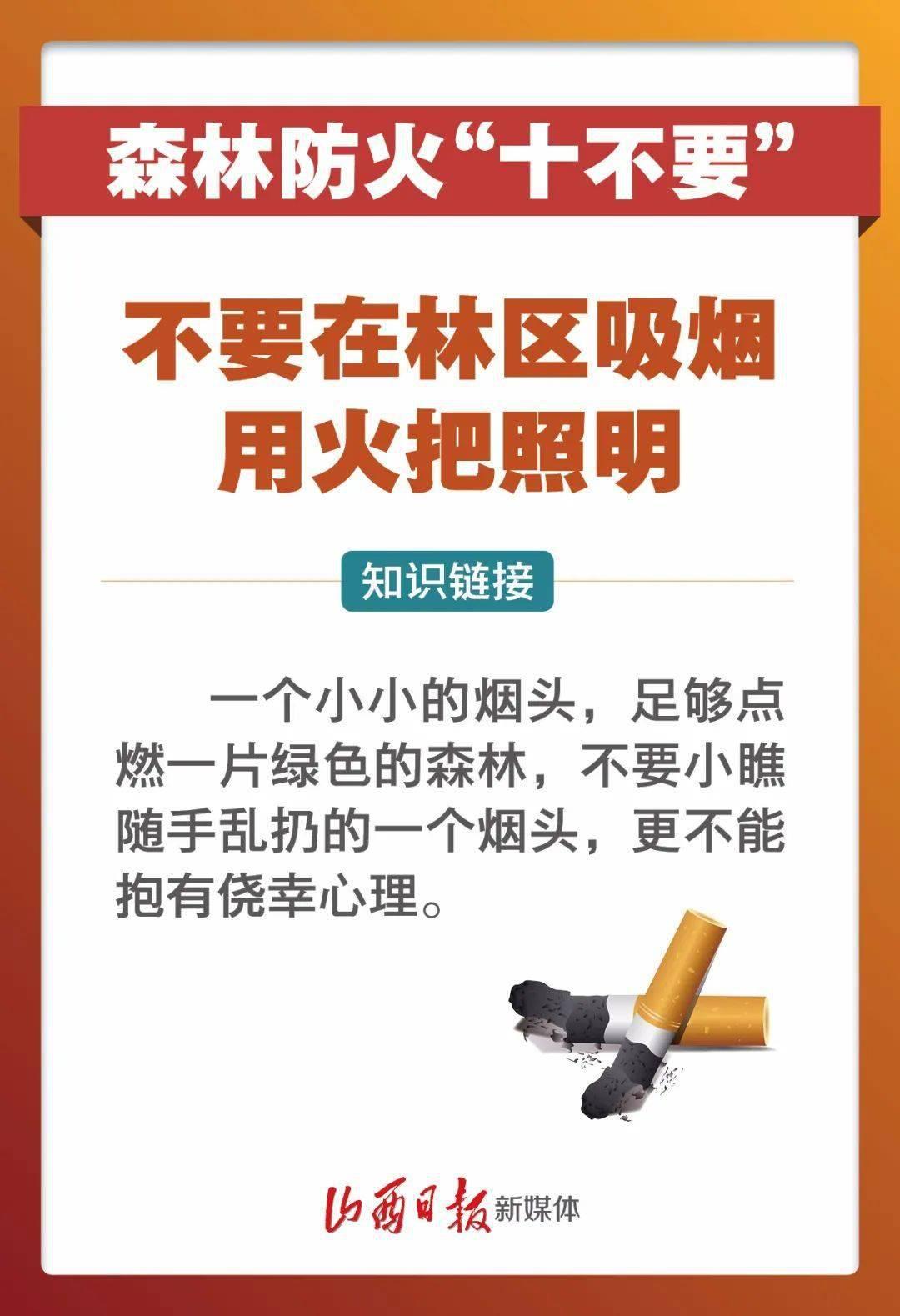 """春季森林防火,""""十不要""""需记牢!  第2张"""