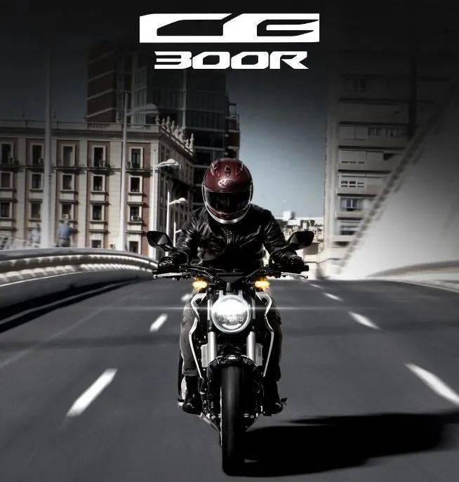 """本田 """"Honda Wing"""" 阵营再添一员,复古街车 CB 300R。"""