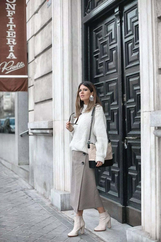 早春半裙穿对了时髦又显瘦