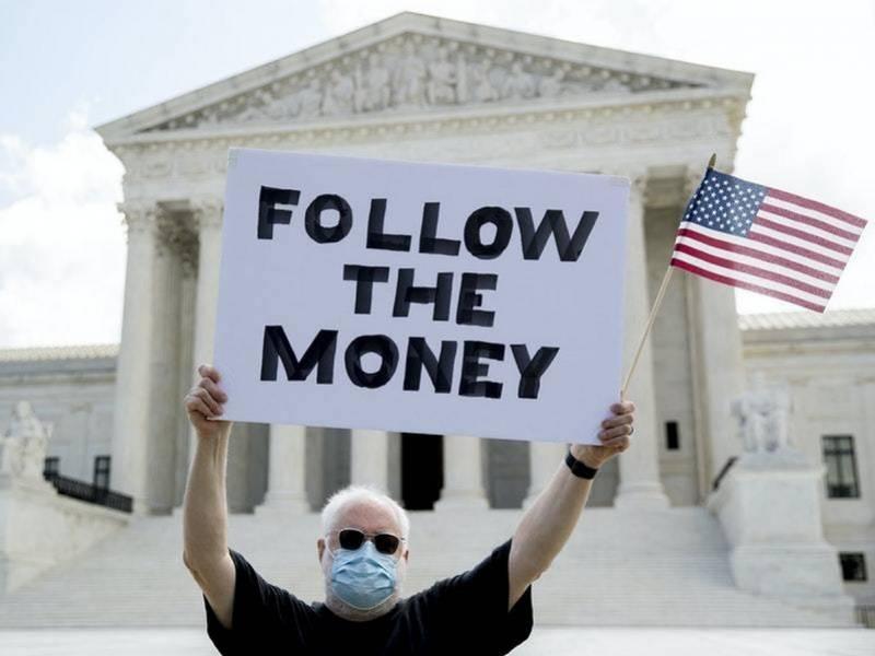 """特朗普大麻烦来了?美最高法院允许检方获取其""""保密""""纳税单"""